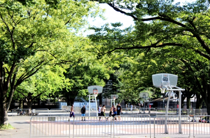 Yoyogi Park Basketball