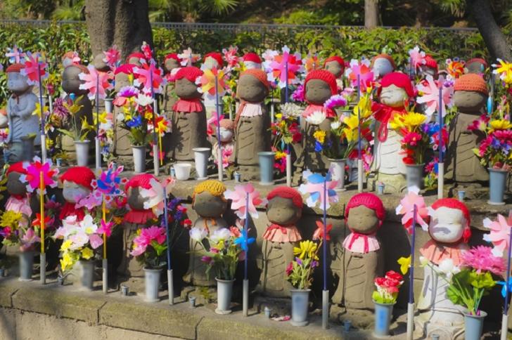 Jizo in Zojoji Temple TOKYO
