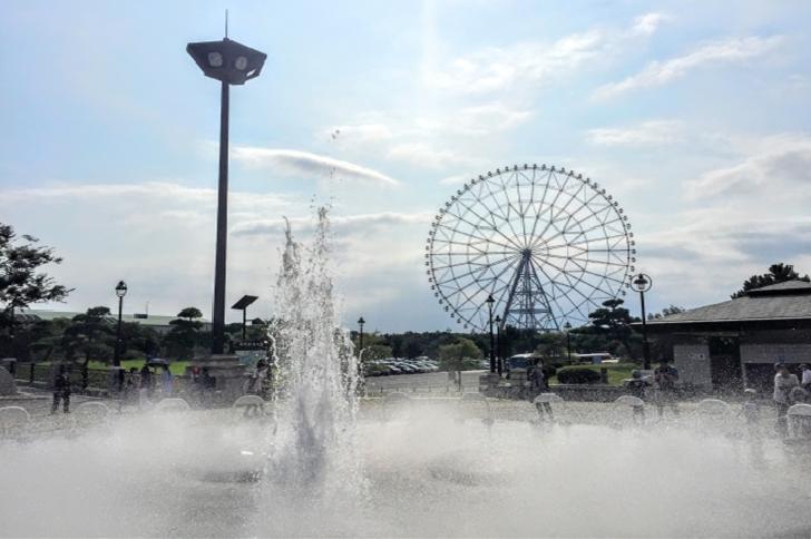 Kasai Rinkai Park Tokyo Ferris Wheel