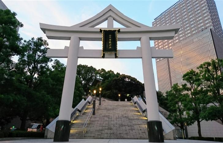 TOKYO Hie Jinja Shrine Entrance