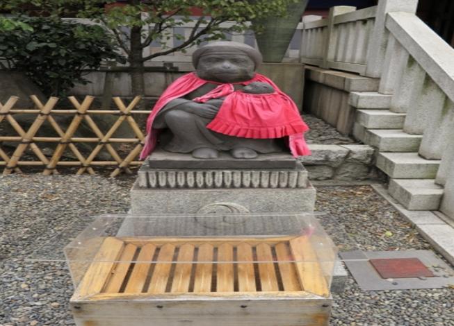 TOKYO Hie Jinja Shrine Messanger of God Monkey