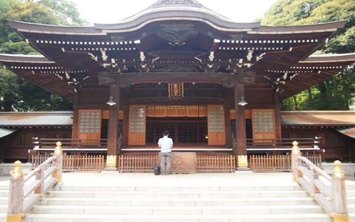 TOKYO Igusa Hachimangu Shrine