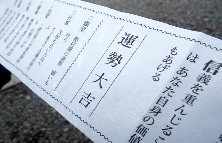 TOKYO TRAVEL Omikuji