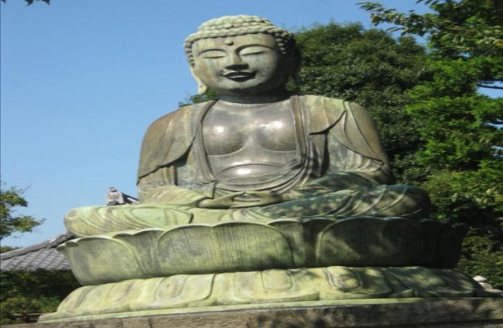 TOKYO Gokokuji Temple Buddha