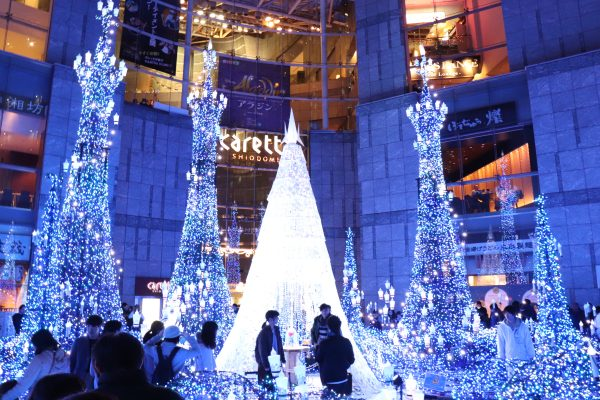 TOKYO, Christmas Lights at Caretta Shiodome Photo