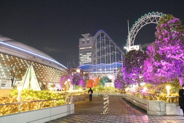 TOKYO Christmas Lights at Tokyo Dome City
