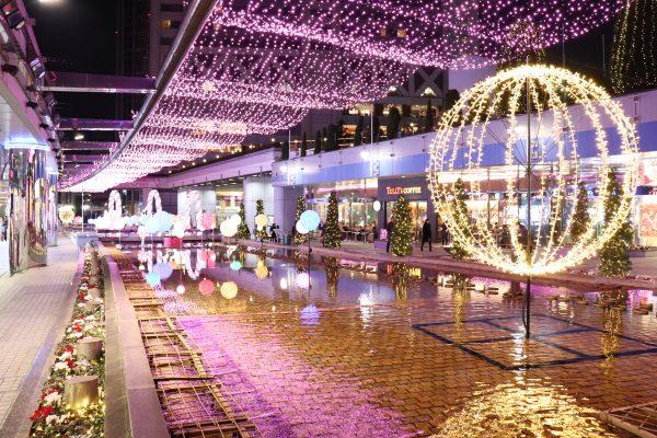 TOKYO Christmas Lights at Tokyo Dome City Sweets