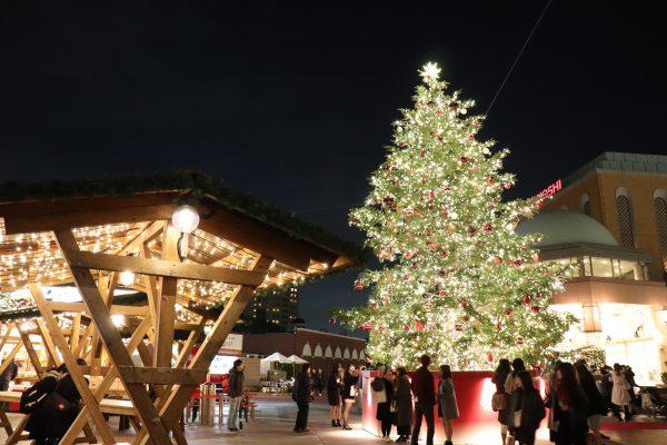 TOKYO Yebisu Garden Place Christmas tree