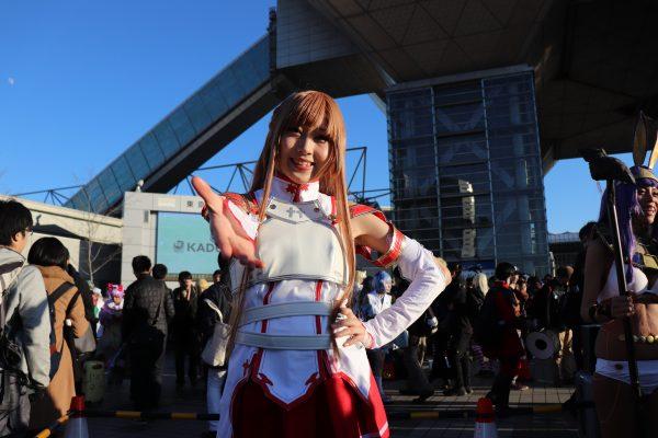 COMIKET Tokyo Japan - Comic Market Cosplay