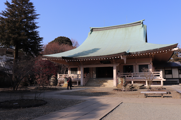 Gotokuji temple main shrine