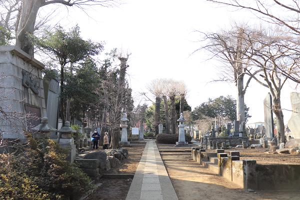 Gotokuji temple tomb
