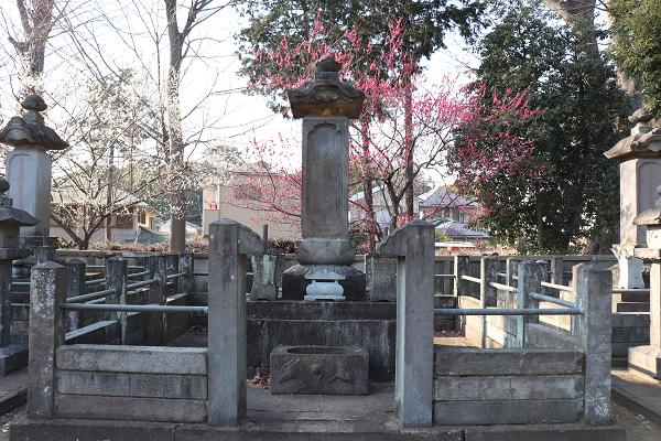 Gotokuji temple tomb of Naotaka Ii