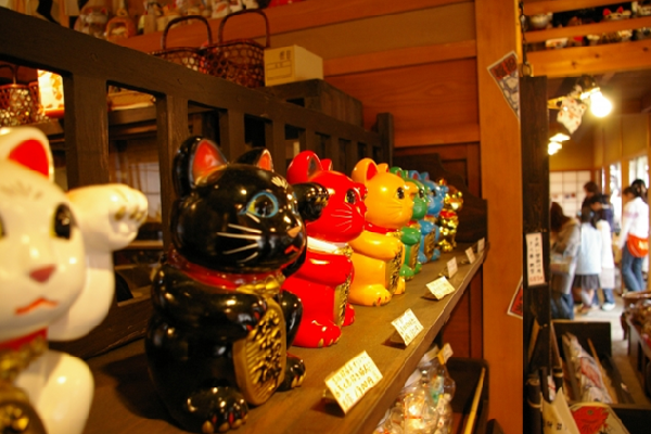 Maneki Neko color