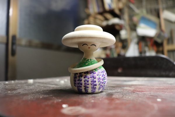 Tokyo Kokeshi with hat