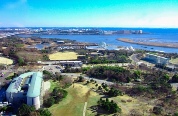 TOKYO Kasai Rinkai Park in Japan