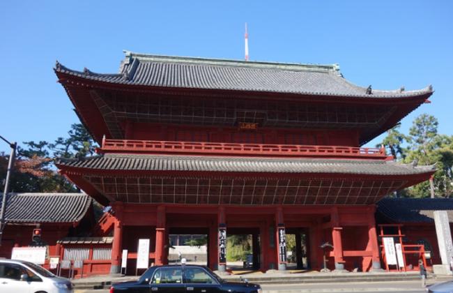 Sangedatsumon of Zojoji temple TOKYO