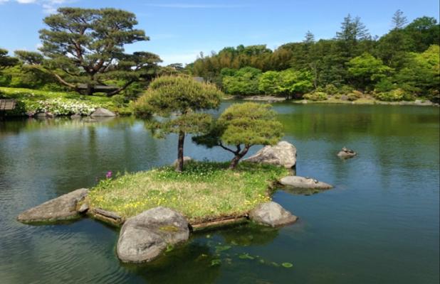 TOKYO Syowa Kinen (Memorial) Park in Japan