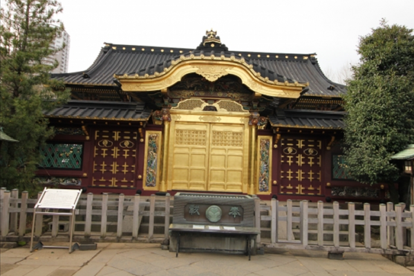 TOKYO Ueno Tosyogu Shrine in Japan