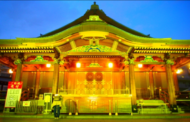 TOKYO Yushima Tenjin (Tenman-gu) Shrine in Japan