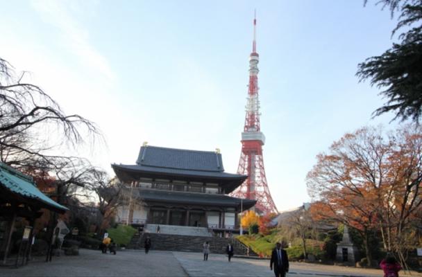 TOKYO Zojoji Temple in Japan