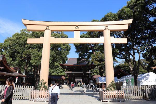 TOKYO Meiji Jingu Shrine in Japan