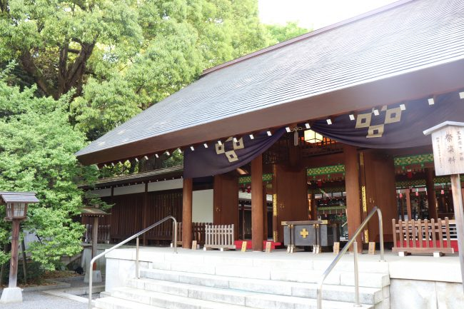Nogi shrine Honden Japan