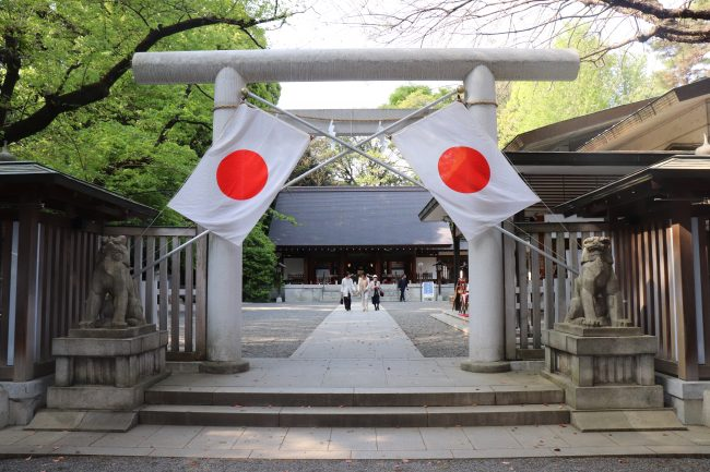 Nogi shrine Honden gate Japan