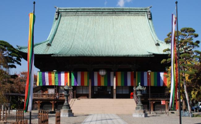 TOKYO Gokokuji Temple Honden