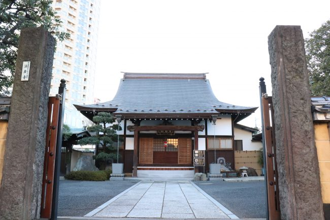 Hoshinji temple Rinzai sect in Shunjuku