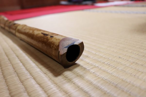 SHAKUHACHI KOMUSO at Hoshinji Temple│ Japanese blown bamboo flute