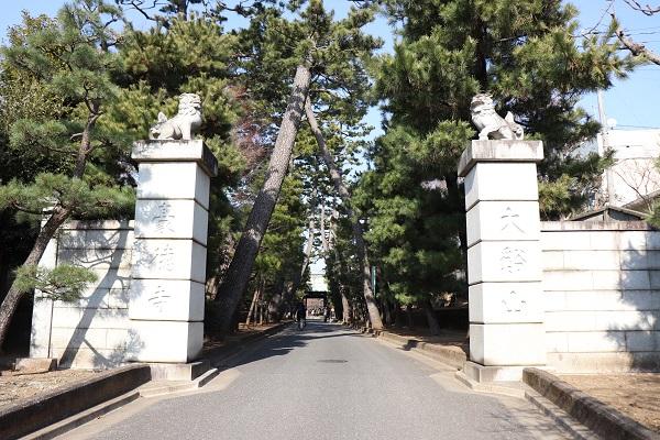 Gotokuji temple gate
